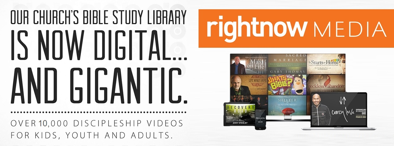 Right Now Media - Over 10,000 Video Resources for Discipleship
